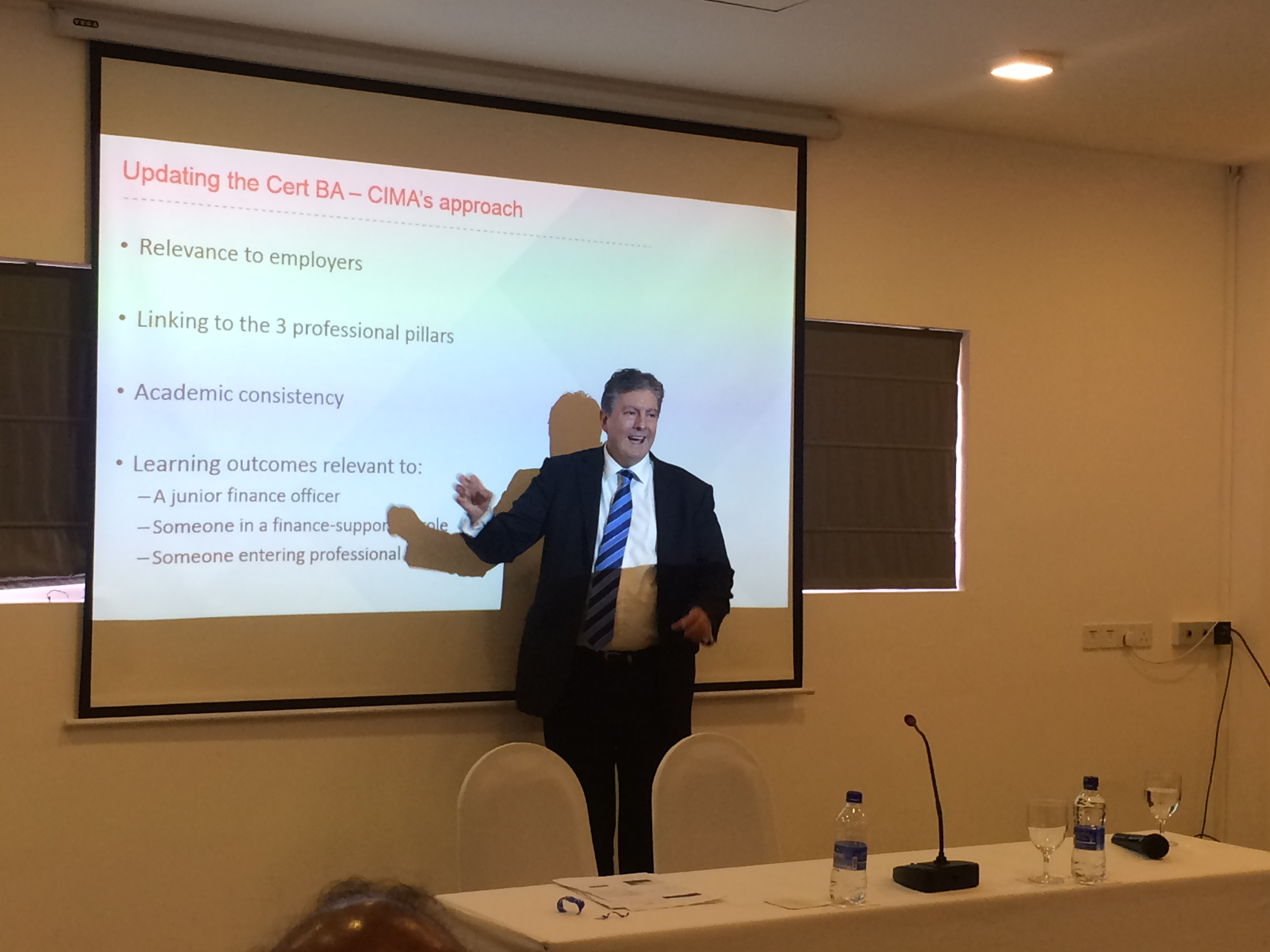 presentation topics in finance officer